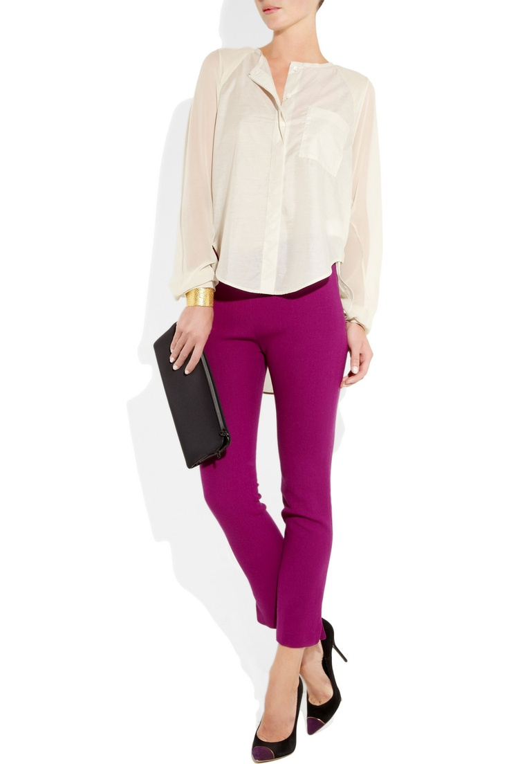 love colored pants
