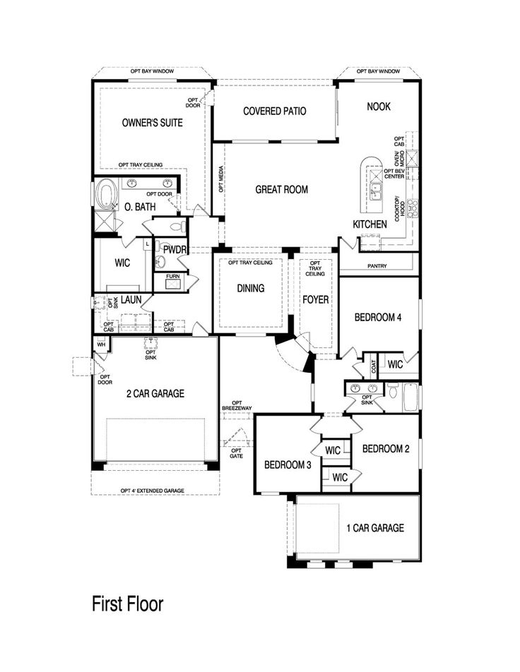 1000 images about pulte homes floor plans on pinterest for New construction house plans
