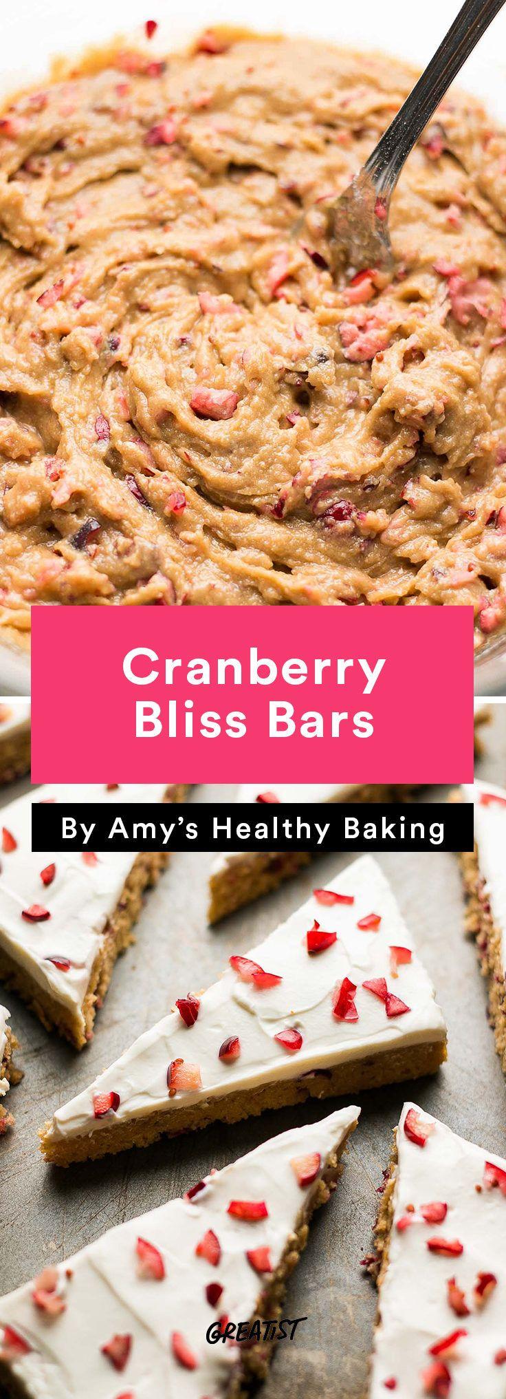 Starbucks Copycat Cranberry Bliss Bars