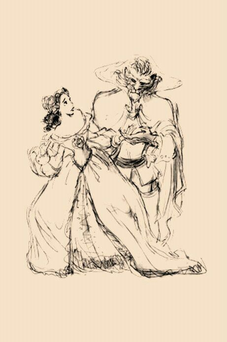 Disney Concept Art - Belle and the Beast