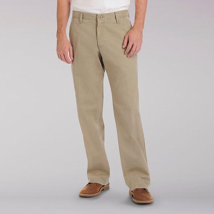 Lee Men's Weekend Chinos - Big & Tall::48:34 Pants