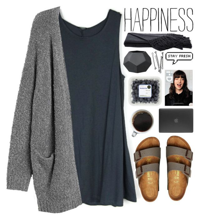 ·· stormy beach day ·· by undercover-martyn on Polyvore featuring Monki, Birkenstock, Incase, Sefte and BOBBY