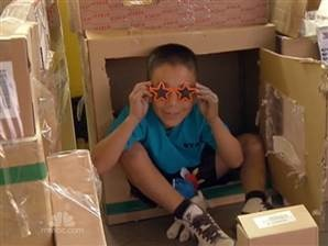 Cardboard arcade changes kid's life | MSNBC Video