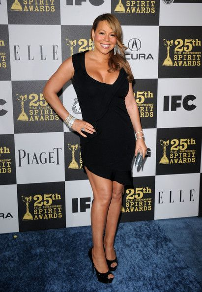 Mariah Carey Photos - Singer/actress Mariah Carey arrives at the 25th Film Independent's Spirit Awards held at Nokia Event Deck at L.A. Live on March 5, 2010 in Los Angeles, California. - 25th Film Independent Spirit Awards - Arrivals