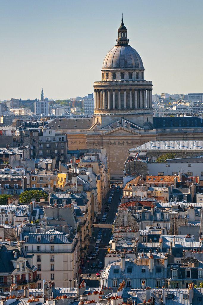 The Pantheon, Place du Panthéon, Paris V
