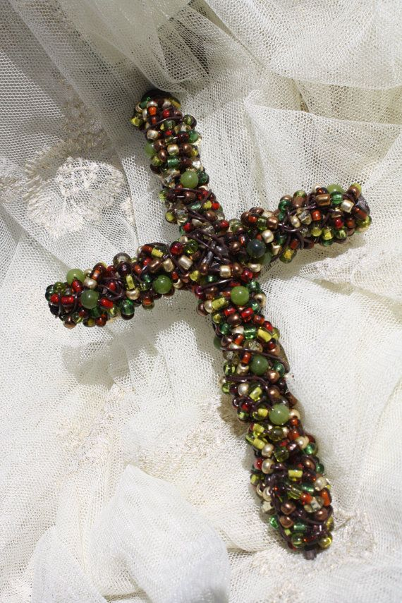 17 best ideas about beaded cross on pony bead