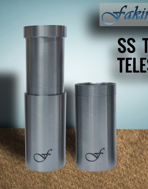Style and Elegance: Fakirs New 20*1 SS Telescopic Tube.  Compatible with other 20*1 threaded Mod's topcaps and firing buttons. #vaper #vapors #ecigs #smoking #vapes