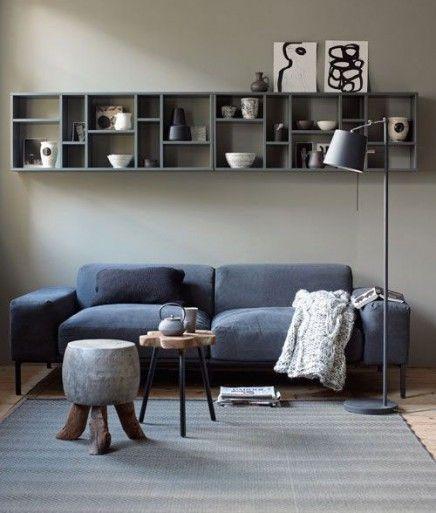 17 beste idee n over muur achter de bank op pinterest woonkamer planken woonkamer muren en - Kleur muur slaapkamer kind ...