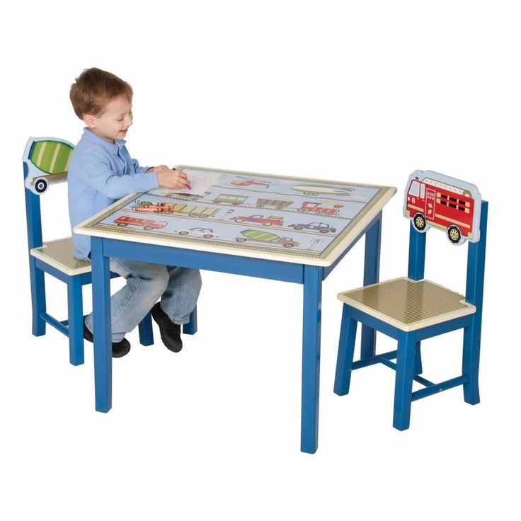 Kids Furniture Moving 3 piece kids table and chairs clearance with free shipping