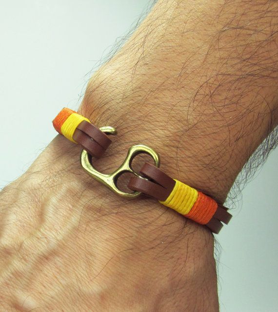 Unisex Bracelet Men's Bracelet Leather Bracelet by ZEcollection