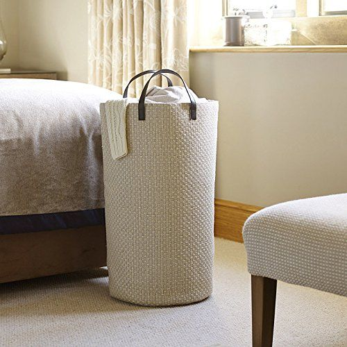 Tall Laundry Tote & Washing Basket With Handles