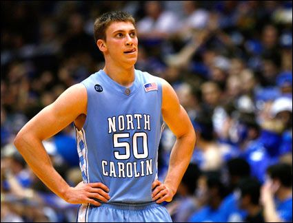 Tyler Hansbrough will forever be my favorite player. And yes, I am going to marry him :-p