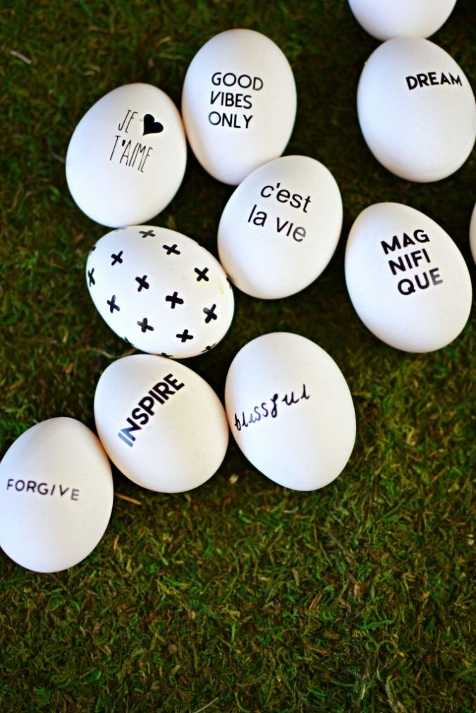 76 best egg decorating ideas images on pinterest alcohol creative fabulous egg decorating idea write messages and quotes negle Images