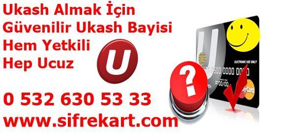 Ukash Almak İçin Hem Güvenilir Hem Ucuz, Tek Tık İle http://www.sifrekart.com/ukash-satin-al/