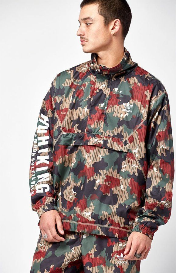 46f0ba10a6a95 FREE US SHIPPING !! adidas x Pharrell Williams Hu Hiking Camo ...