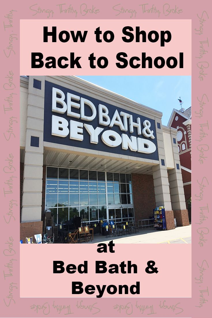 Back to school shopping tips for saving the most at Bed