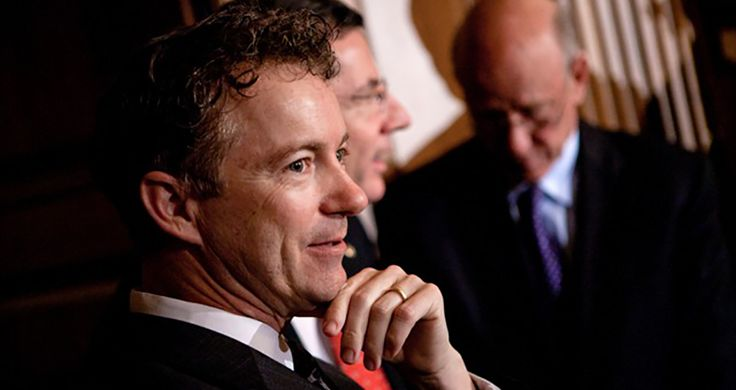 Congressman Suggests Trump Nominate Rand Paul For Secretary Of State Published on November 30, 2016