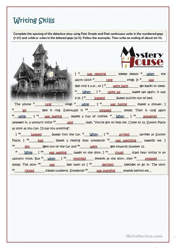 Mystery At Sutton Place Grammar And Writing English Esl Worksheets For Distance Learning And Physical C In 2021 English Language Teaching Grammar Language Teaching