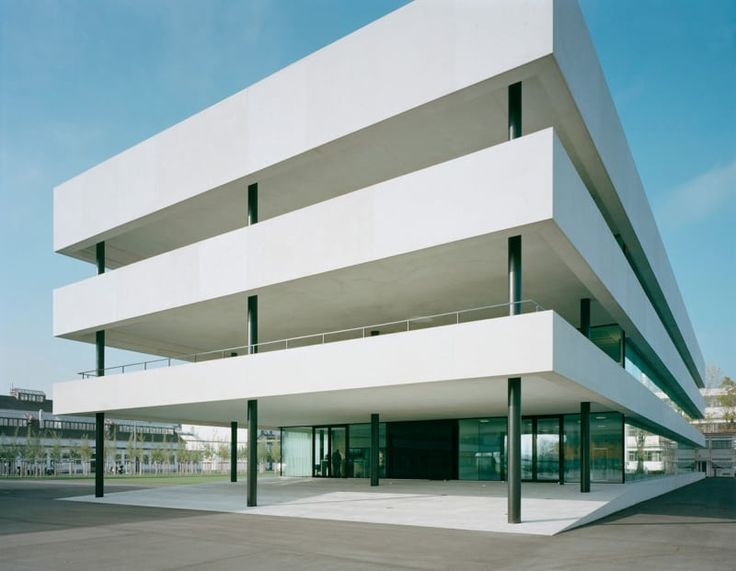 Christ & Gantenbein, Walter Mair · Roche. Technical and Office Building