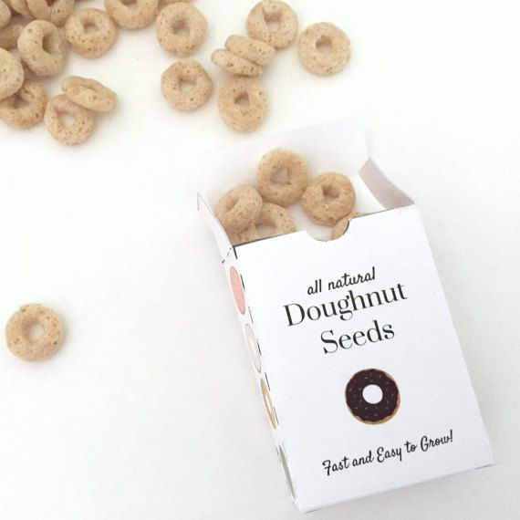 April Fools - Prank - Kids Activity - Doughnut Seeds - Joke Gift Idea - Gag Gift Idea - April Fools Day - Spring Printable Kids Activity