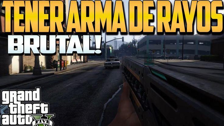 TRUCO GTA V | TENER FUSIL DE RAYOS GRATIS Ps4 y Xbox One