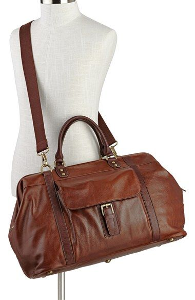 Free shipping and returns on Fossil 'Estate' Duffel Bag at Nordstrom.com. Rich leather shapes a handsome duffel bag featuring a framed top for maximum packing convenience.