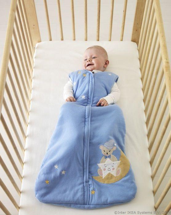 Nu e un sac de dormit, e o păturică-rochiță ce are grijă ca puiul tău să nu se dezvelească noaptea www.IKEA.ro/sac_SÄNGDAGS