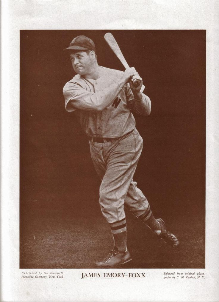 Foxx became the second player in Major League Baseball history to hit 500 career home runs, after Babe Ruth. Attaining that plateau at age 32 years 336 days, he held the record for youngest to reach 500 for sixty-eight years, until superseded by Alex Rodriguez in 2007.