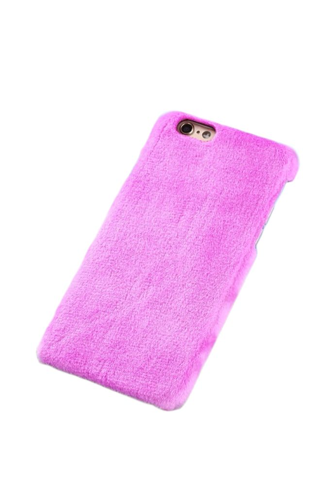 Winter Warm Plush Phone Case For iPhone X case 10 6s Plus