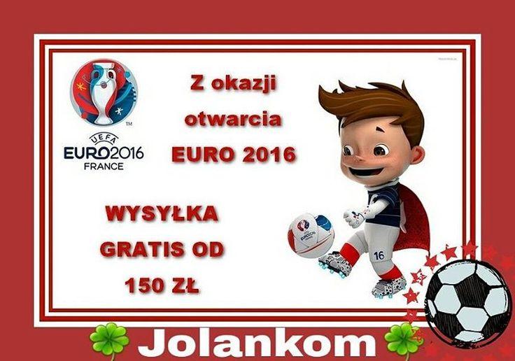 Z okazji EURO 2016⚽ strzelamy promocjami i dodatkowo trener zarządził wysyłkę GRATIS. Strzel gola i Ty  Wystarczy zrobic zakupy w naszym e-sklepie Prodekol www.prodekol.sklepna5.pl od 150 zł ⚽⚽⚽⚽ #euro #gole #promocje #rabaty #wysyłka #gratis...