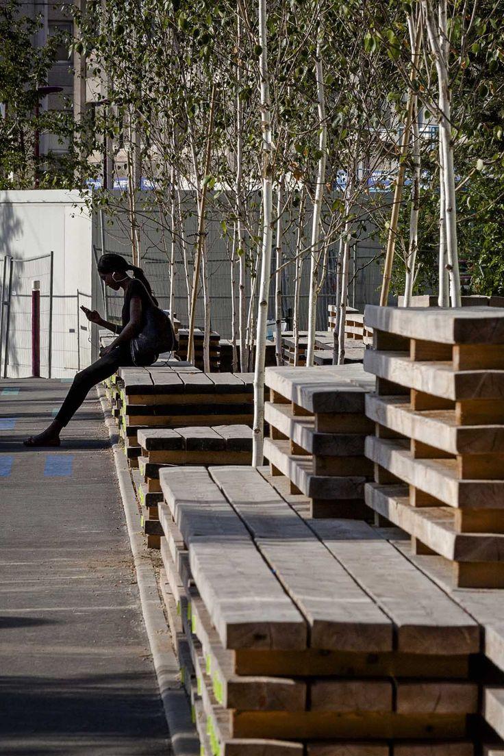 Les 289 meilleures images du tableau public spaces sur - Mobilier urbain jardin public la rochelle ...