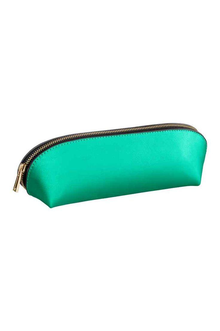 Taštička na kosmetické štětce - Zelená - ŽENY | H&M CZ