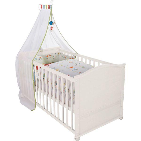 Inspirational Das Kinderbett Waldhochzeit von Roba ist komplett ausgestattet mit Matratze Himmelsstange und einem