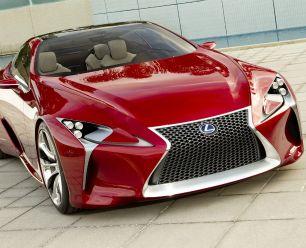 Lexus es una marca de carros lujosa.