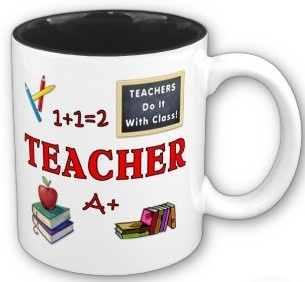 RANTS FROM MOMMYLAND: The Truth About Teacher Gifts (what the teacher REALLY wants): Teacher Gifts, Teacher Appreciation, Coff Mugs, Gifts Cards, Kids Stuff, Gifts Ideas, Handwritten Note, Mommyland, Coffee Mugs