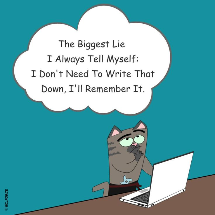 The biggest lie I always tell myself: I don't need to write that down, I 'll remember it. ##write #writeitdown #writonpaper #firstwrite #remember #alwayswriteitdown #success #positiv #motivation #inspirational #quotes #sayings #wisdom #goodvibes