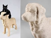 Cat,my Dog and I. on Pinterest | Wood Sculpture, Cats and Mice
