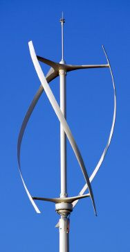 A Vertical Axis Wind Turbine (VAWT)