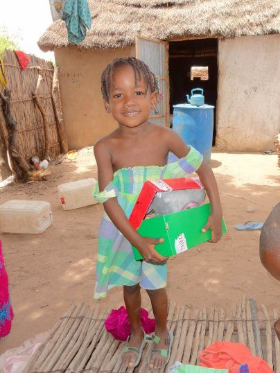 """""""Unsolicited Advice About Shoeboxes"""" - An article making suggestions about what to include (and not) in your OCC shoebox gifts, based upon observations of a family ministering in Senegal."""