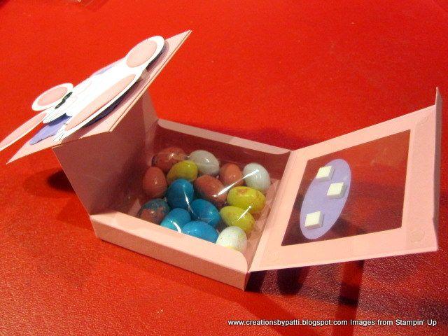 sizzix shaker box | Creations by Patti: I Got Bunnied
