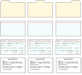 printable 3 x 5 index cards