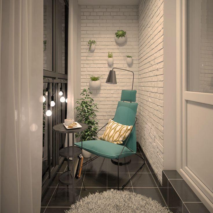 Балкон - фото дизайна интерьеров на InMyRoom.ru