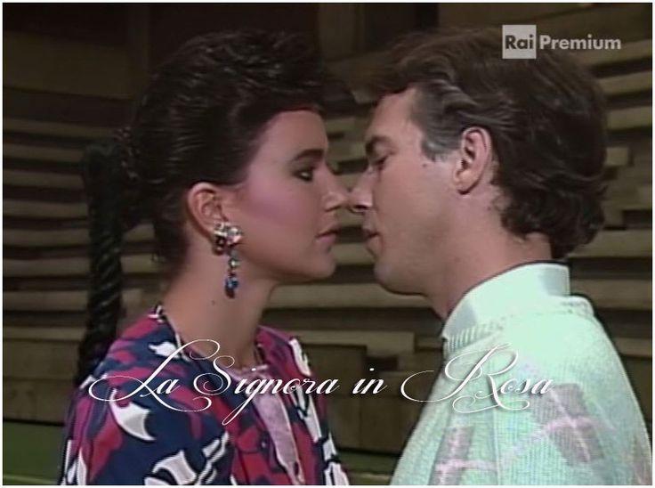 Rossella Ferrer e Marco Clemente - La Signora in Rosa Telenovela -