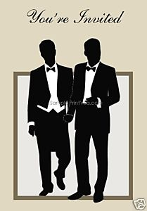 81 best Gay Wedding Invitations images on Pinterest Lgbt wedding