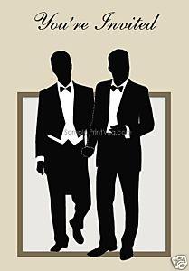 81 best Gay Wedding Invitations images on Pinterest