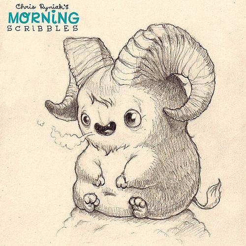 "Billy says, "" Bahhhhhhhh"". #morningscribbles | Flickr - Photo Sharing!"