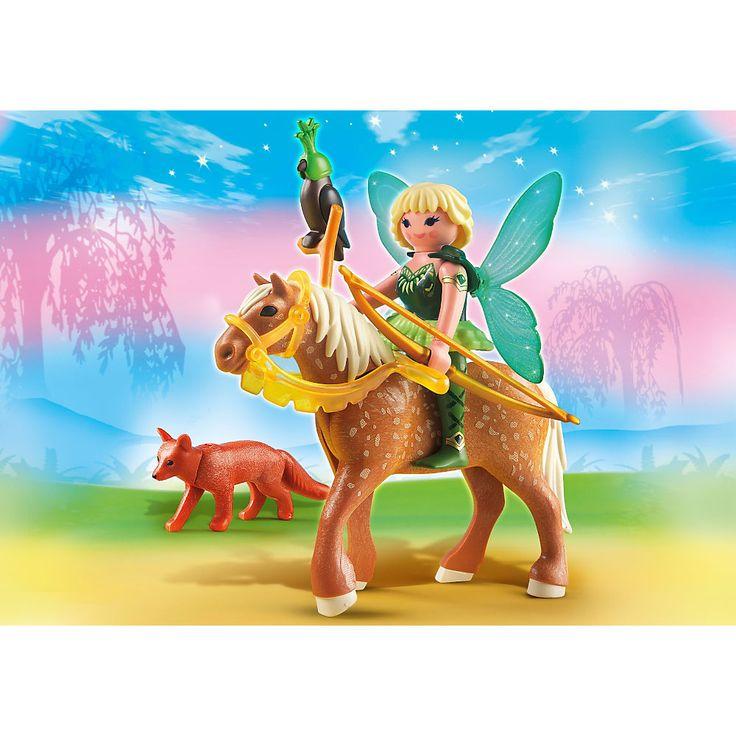 Playmobil Wróżki Wróżka leśna Diana z księżycowym koniem, 5448, klocki