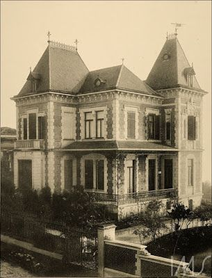 Residência de Ramos de Azevedo Ano: 1900 Autor/Fonte: Otto Rudolf Quaas/IMS
