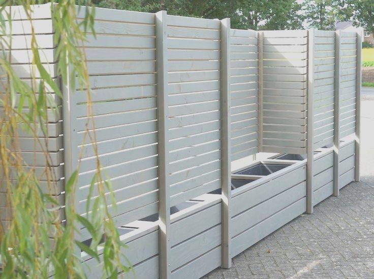 Sichtschutz ohne Befestigung / Zaun zum Bepflanzen