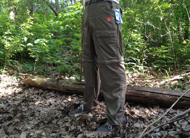 White Sierra Outdoor Pants - perfect for camping! http://50campfires.com/white-sierra-outdoor-pants/ #camping #pants #outdoorpants